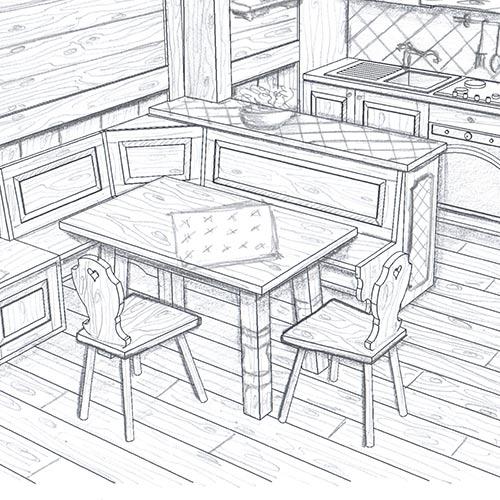 Arredamenti sergio lazzaroni arredamento interni ed - Progetti mobili in legno pdf ...