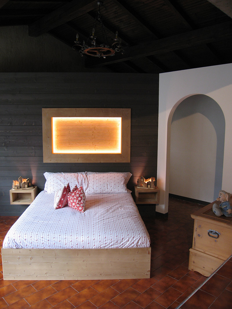 Arredamento camera da letto in legno sergio lazzaroni - Cerco camere da letto usate ...