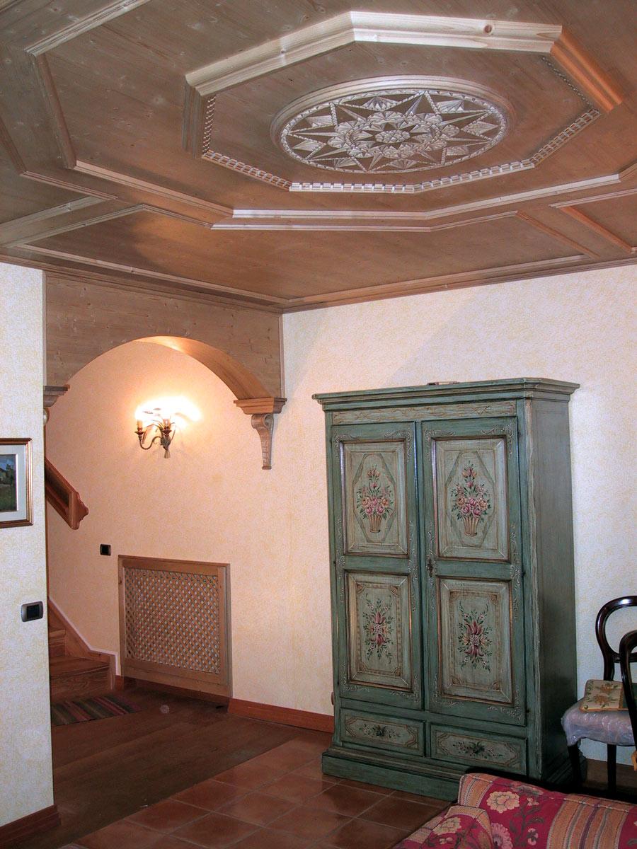 Stube tirolese arredamenti di interni in legno - Stufe in maiolica stube ...