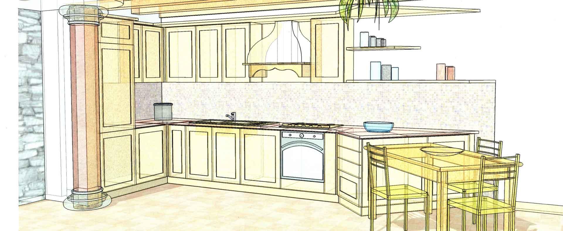 Progettazione arredamenti di interni e artigianato del for Arredamenti opera