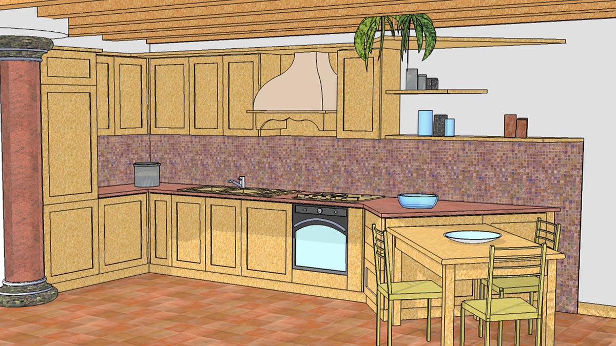 Progettazione arredamenti di interni e artigianato del legno ...
